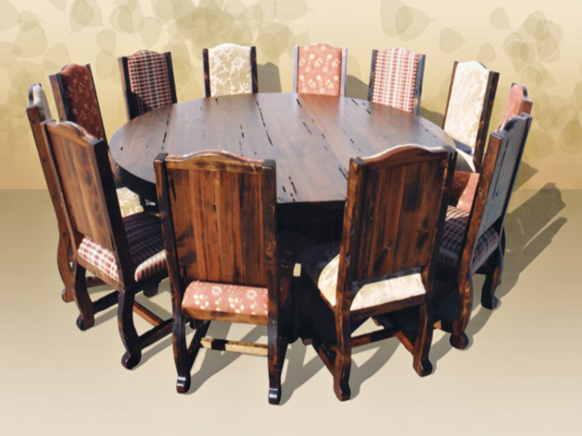 Round Table Seats 10 Dining Room Table Seats 12 For Big Family Homesfeed