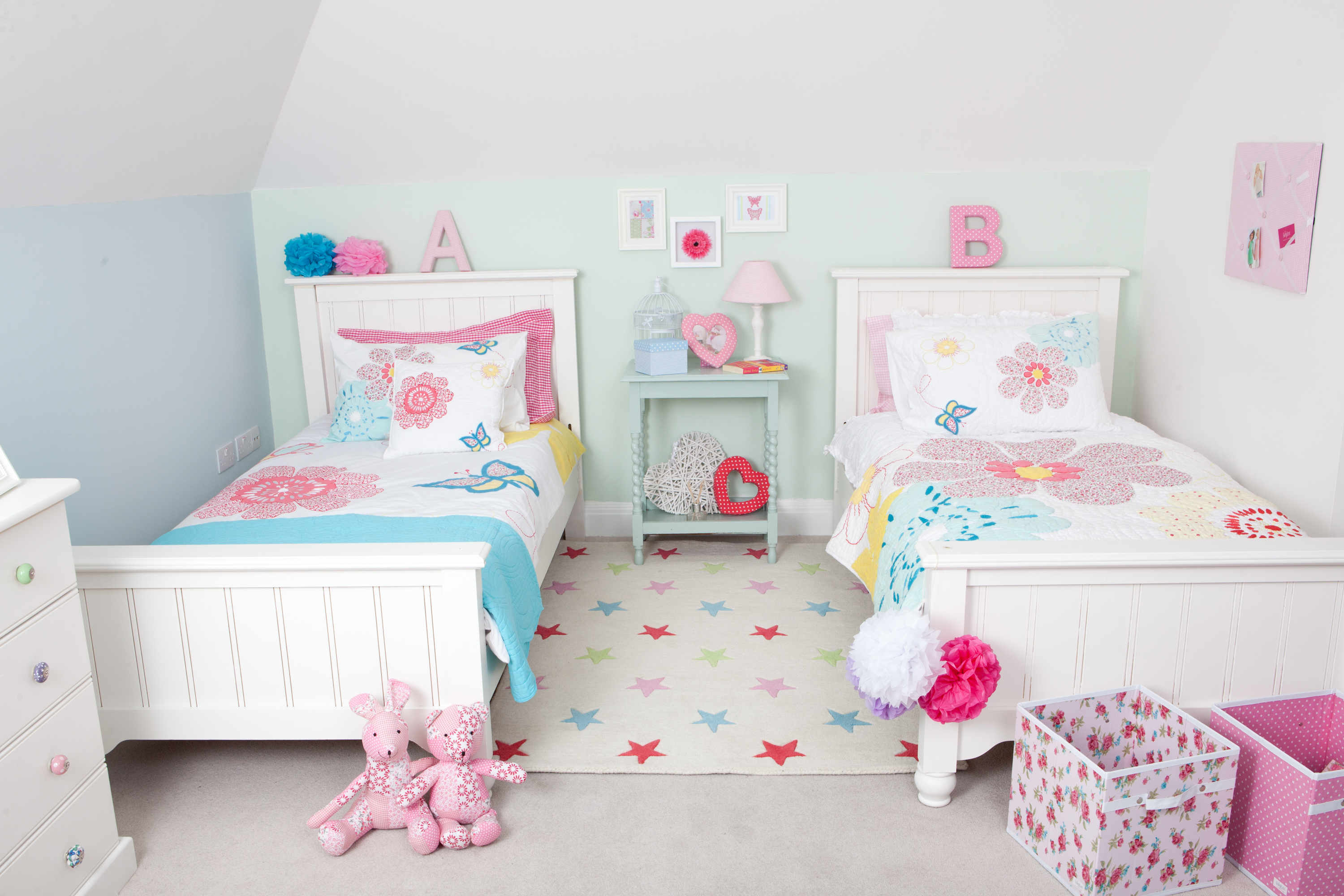 Bed Girl Toddler Twin Beds For Kids Room Homesfeed