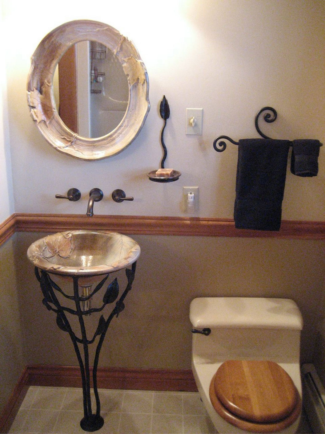 Small Sink For Bathroom Small Vessel Sinks For Bathrooms Homesfeed