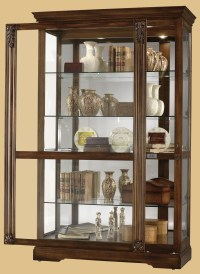 Wall Mounted Curio Cabinet