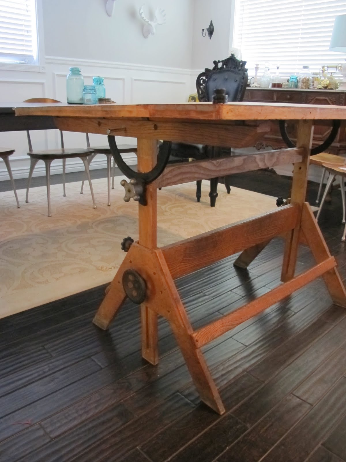 Drafting Table Design Old Drafting Table Homesfeed