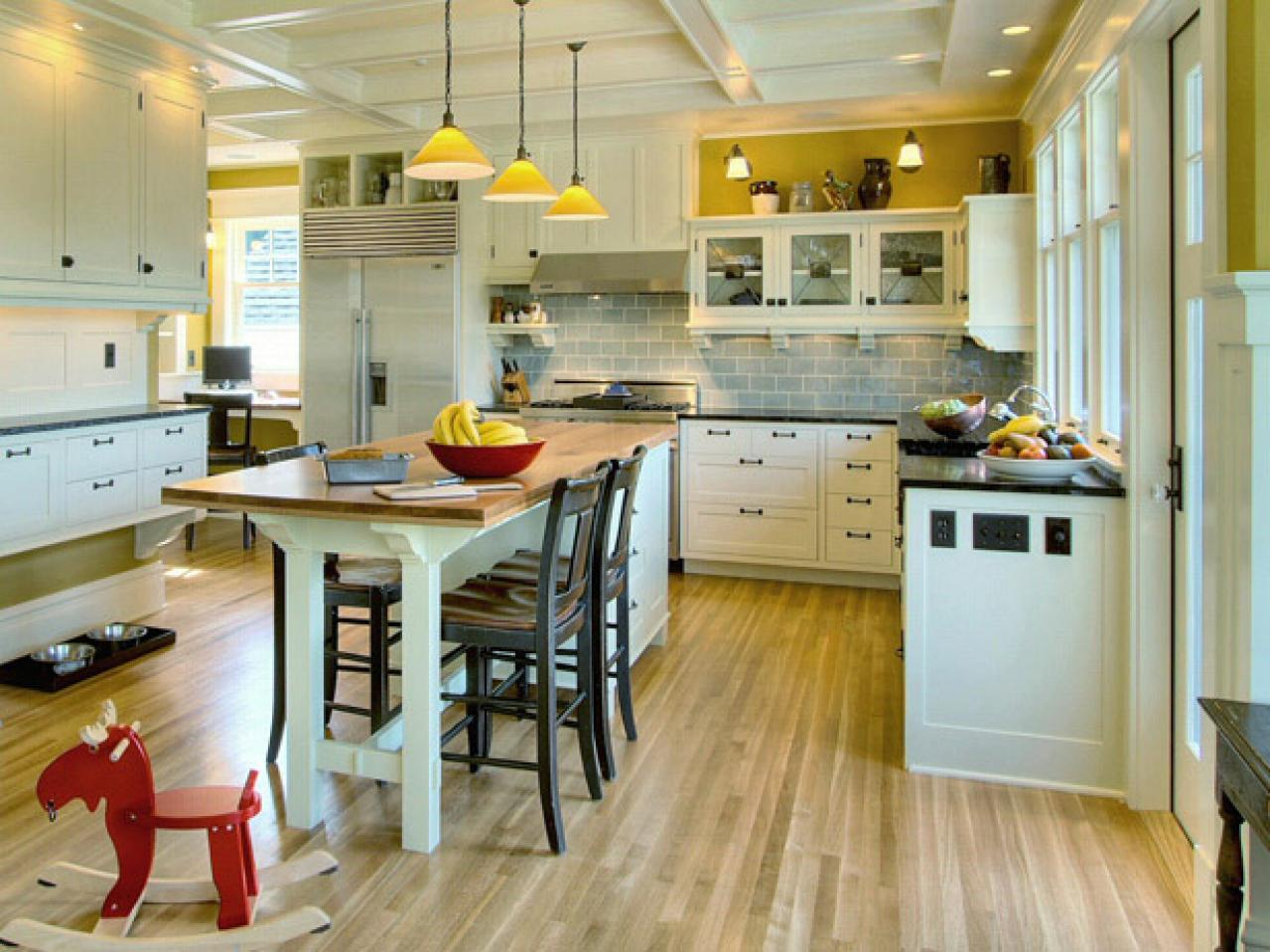Kitchen Table Islands Cabinets Kitchen Island Table Combination: A Practical And Double