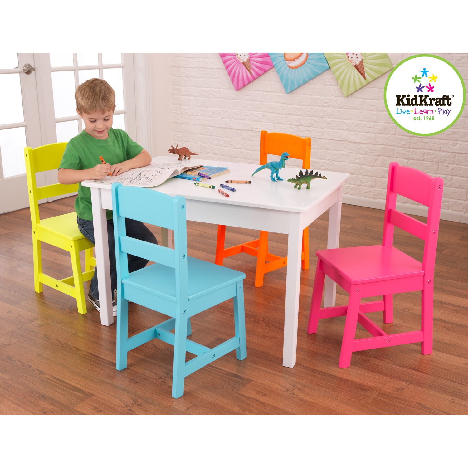 Kids Easy Chair Simple And Minimalist Table And Chair For Toddlers Homesfeed
