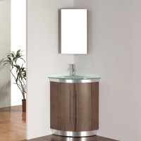 Corner Vanity Set  Solution for Small Space | HomesFeed