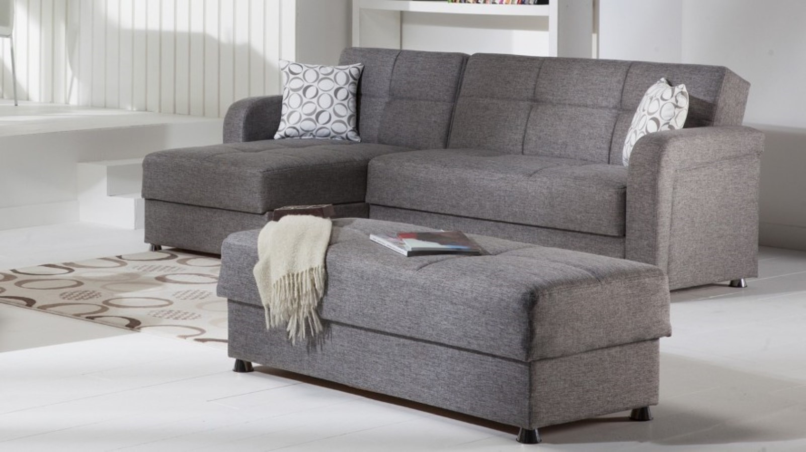 Gray And White Sofa Sofa And Ottoman Beautiful Sofa And Ottoman 65 In Living
