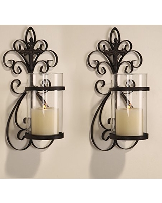 Mirrored Candle Holders to Beautify your Hallway
