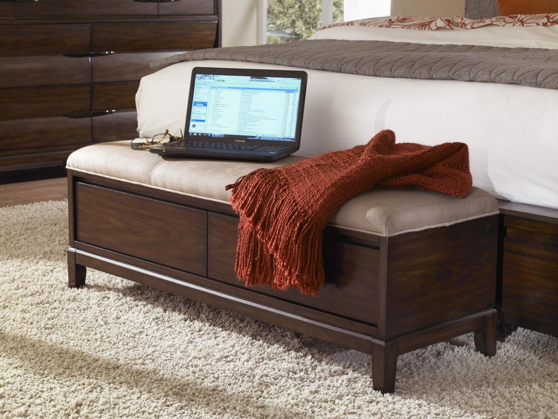 Bedroom Bench Pictures Add An Extra Seating Or Storage To Your Bedroom With An