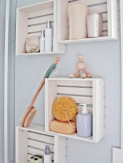 Small Of Wooden Wall Shelves For Bathroom