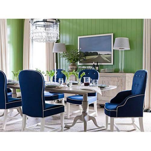 Medium Crop Of Blue Dining Chairs