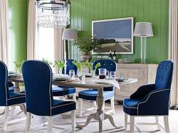 Small Of Blue Dining Chairs