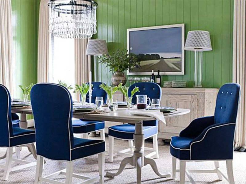 Large Of Blue Dining Chairs