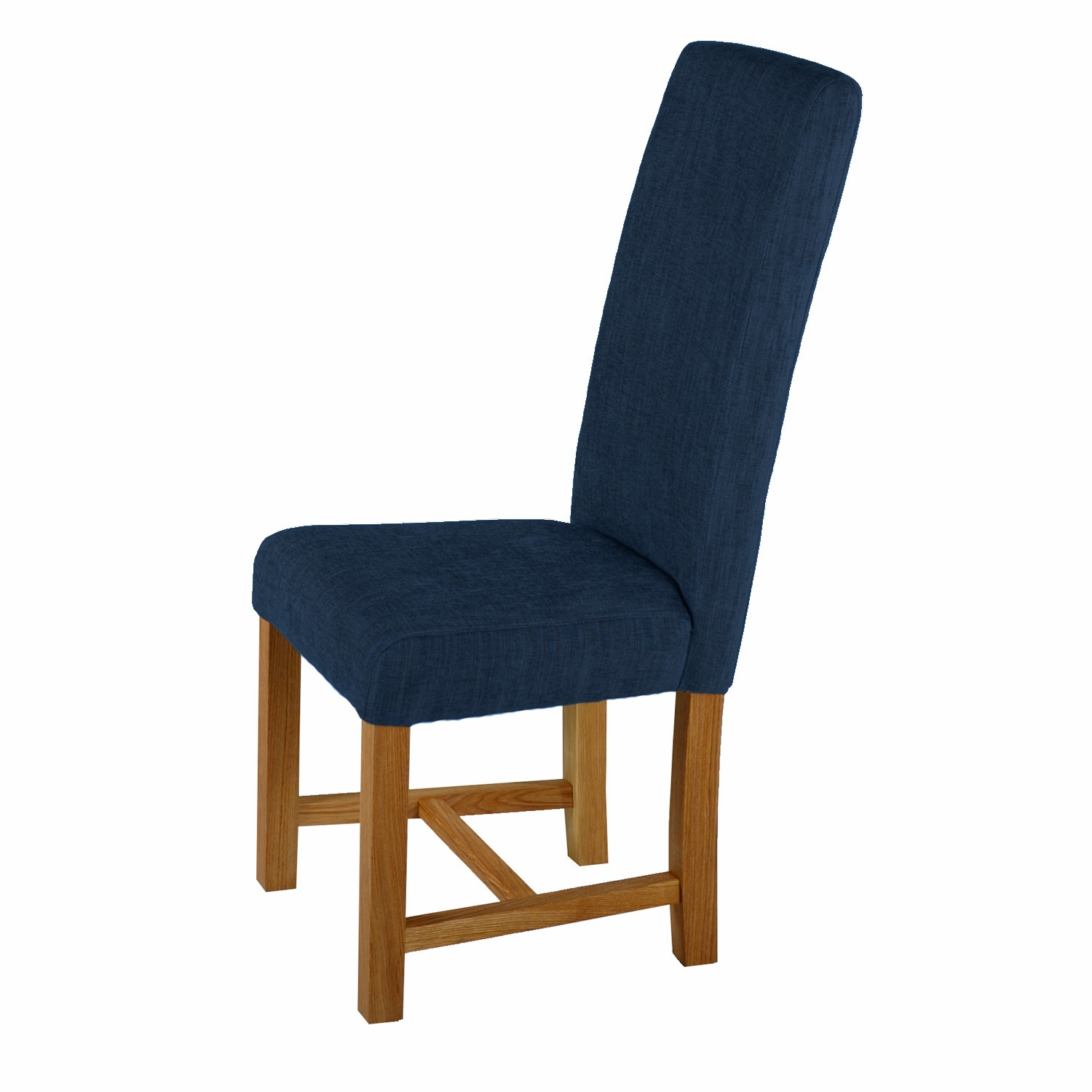 Upholstered Chairs For Dining Room Blue Upholstered Dining Chairs Homesfeed