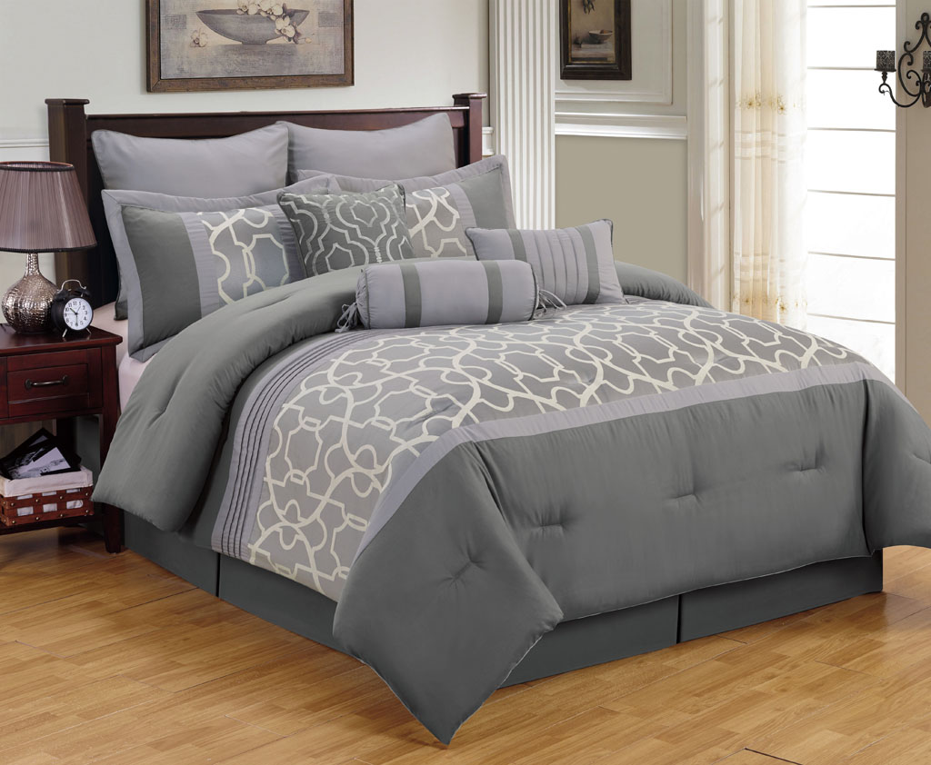 Queensize Kingsize Grey King Size Bedding Ideas Homesfeed
