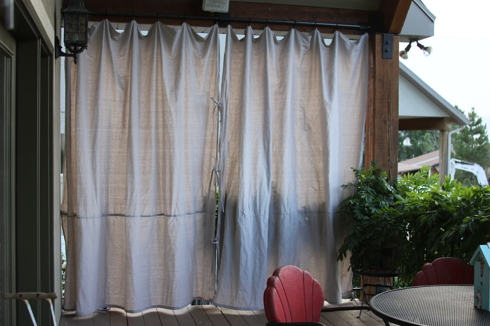 Cheap Patio Curtains Outdoor Curtain Panels Inspiration Homesfeed