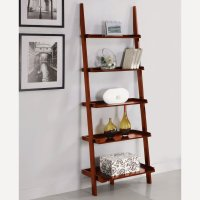 Leaning Ladder Bookshelf | HomesFeed