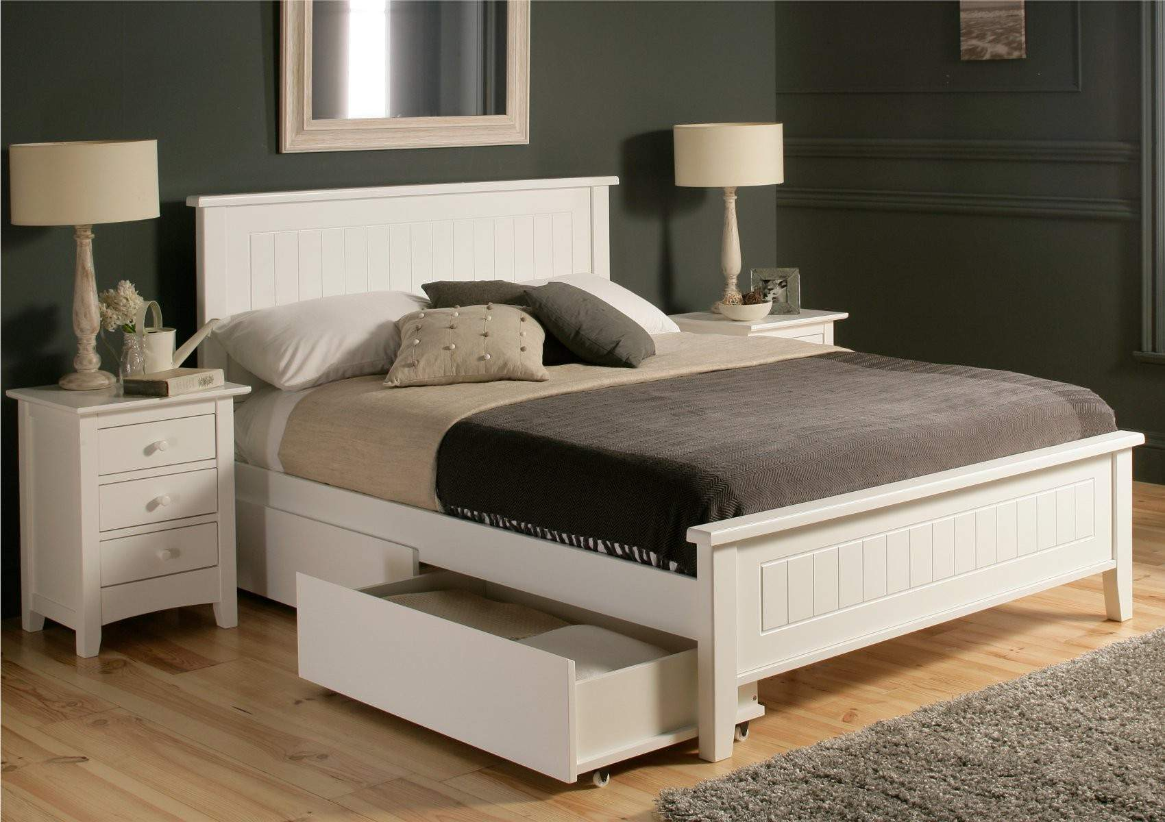 Bed With Drawers Underneath Beds With Drawers Underneath | Homesfeed