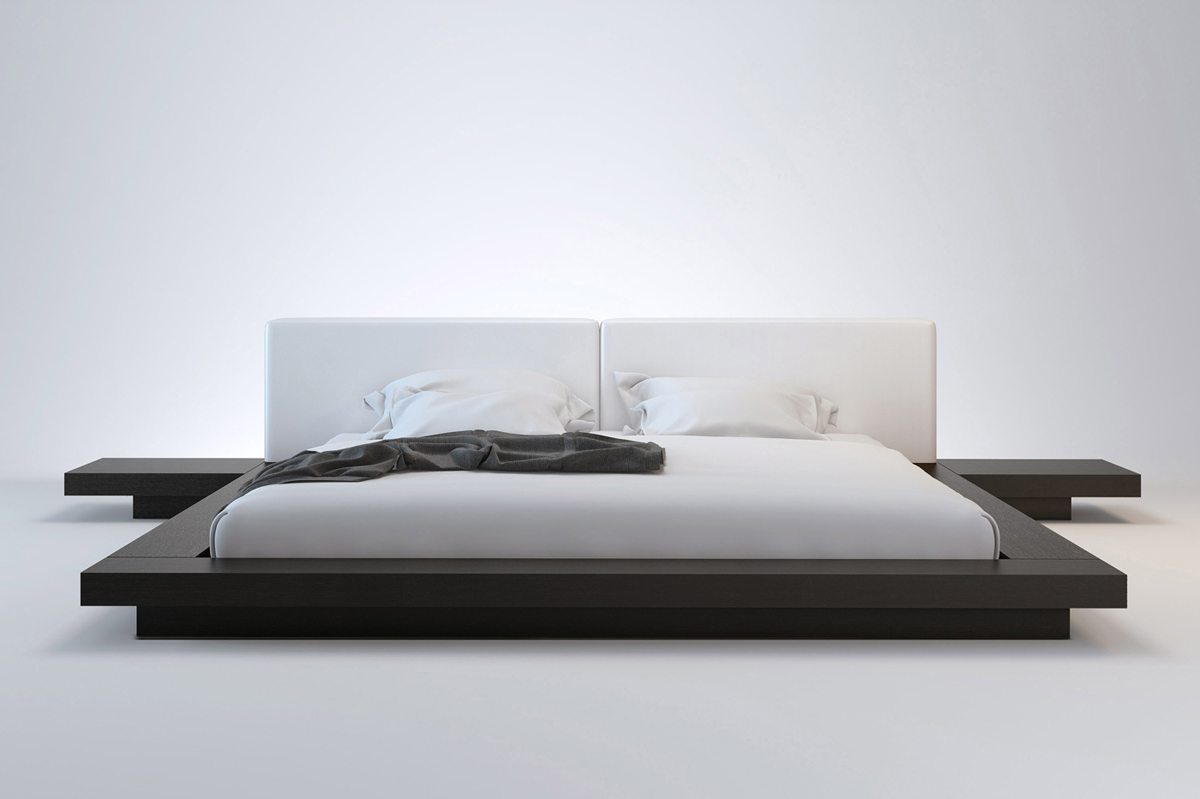 Diy Minimalist Bed Frame Modern King Size Bed Frames Providing A Spacious Room For Great