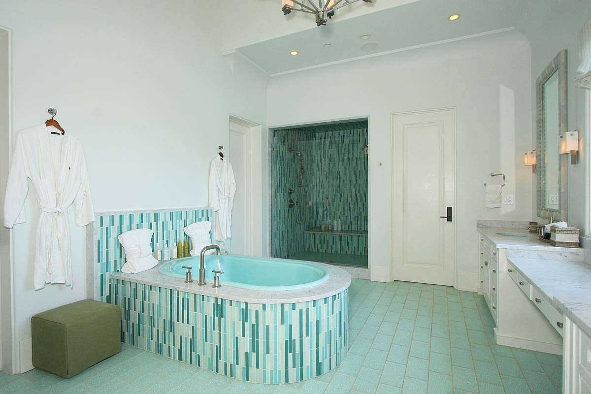bathroom painting ideas green