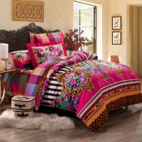 Tribal Pattern Bedding  to Experience Lovely Nuance ...