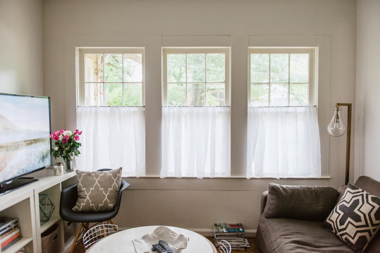 Beautiful Linen Café Curtains for Windows HomesFeed - cafe curtains for living room