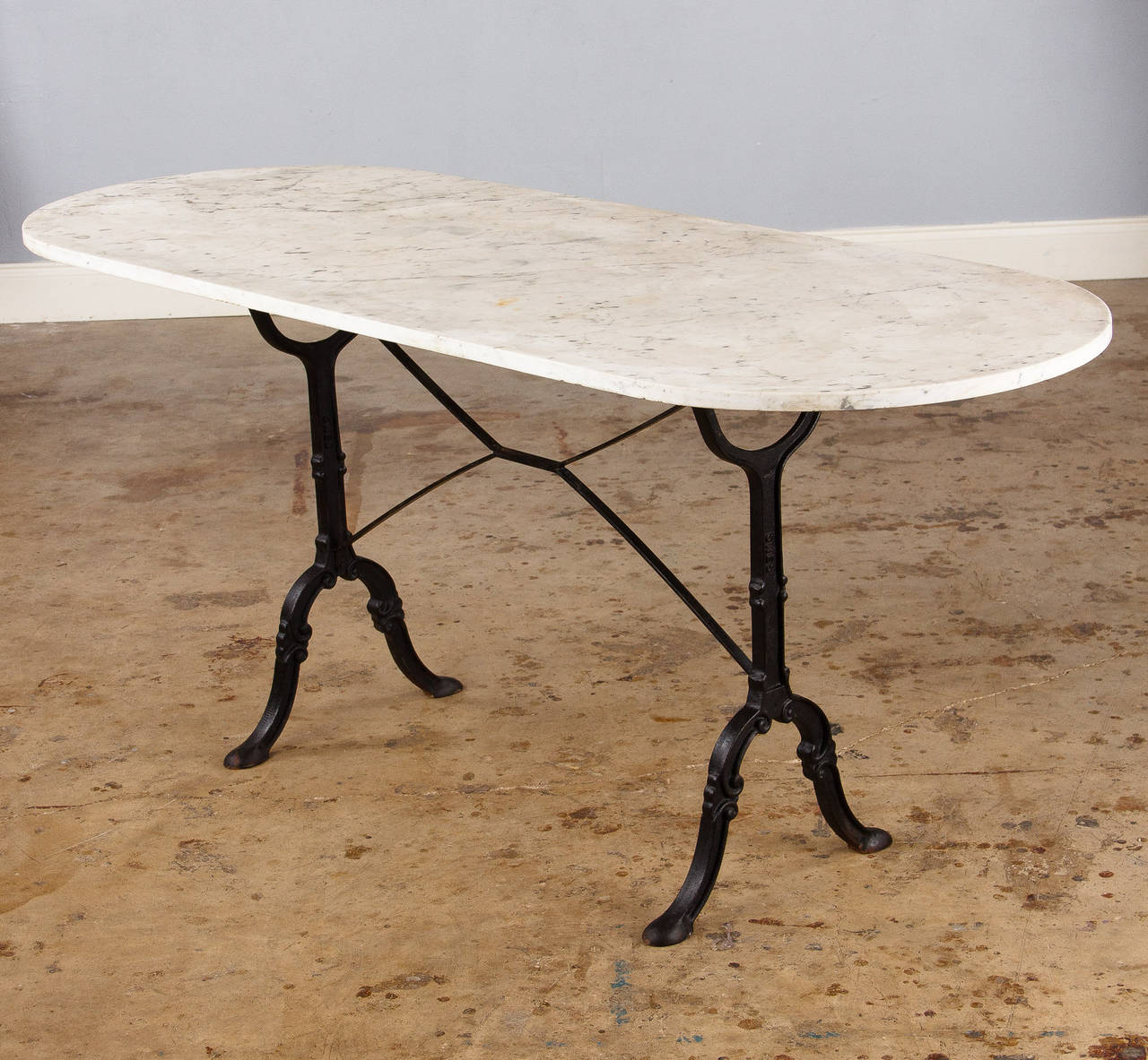 Cafe Tables Marble Top Bistro Table For Home Or Cafe Homesfeed