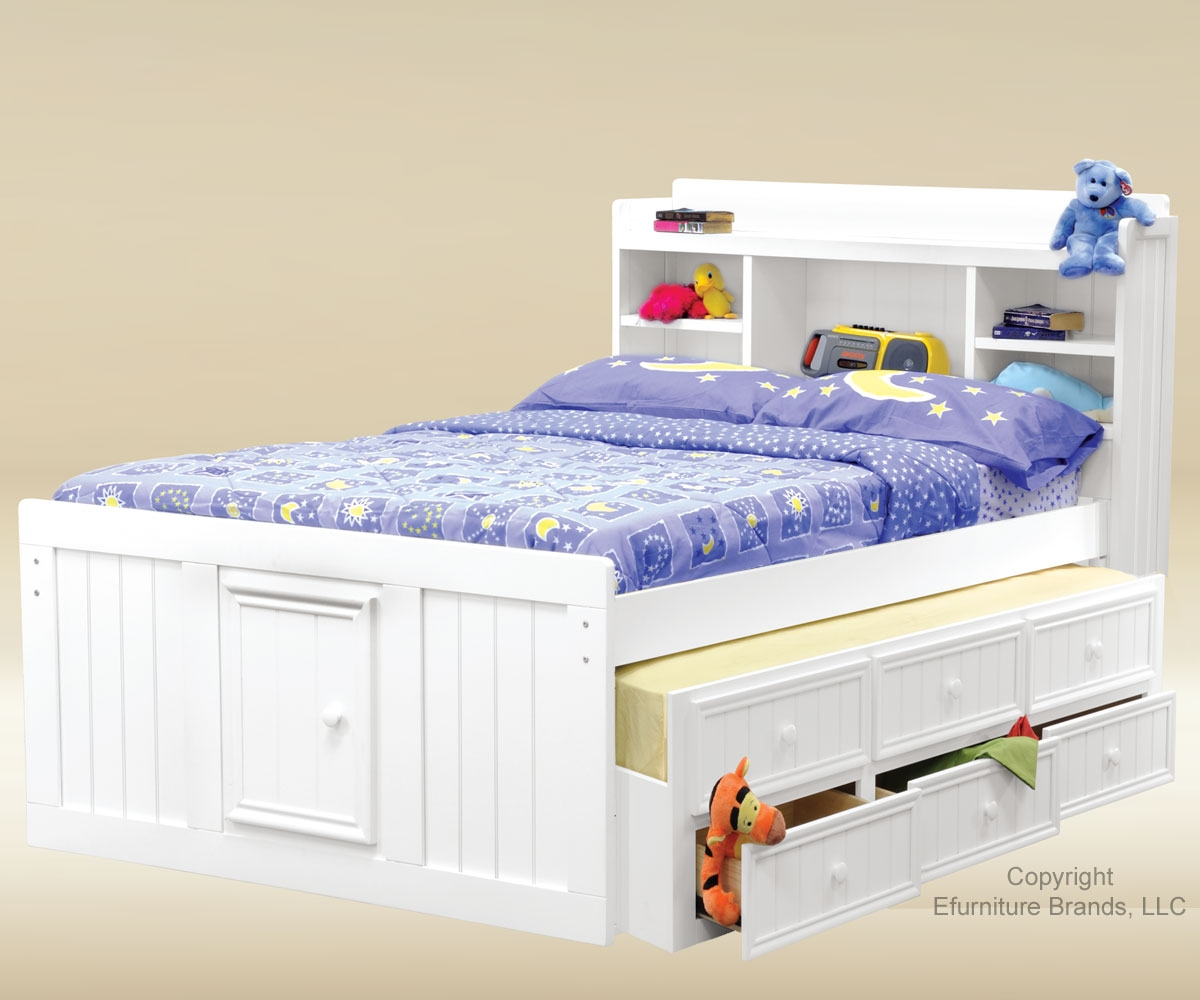 White Trundle Bed Trundle Beds For Children Homesfeed