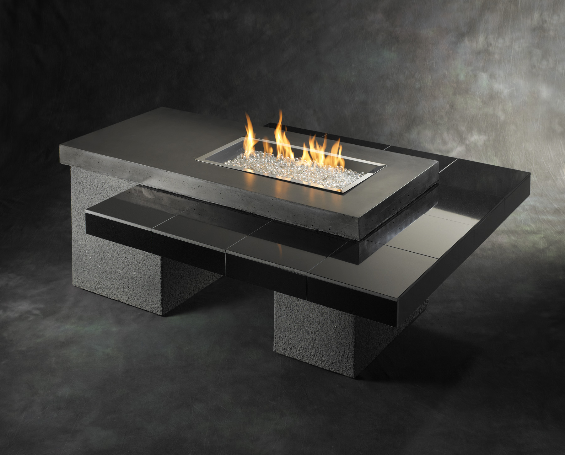 Fireplace Tables Outdoor Indoor Fire Pit Table Design Options Homesfeed