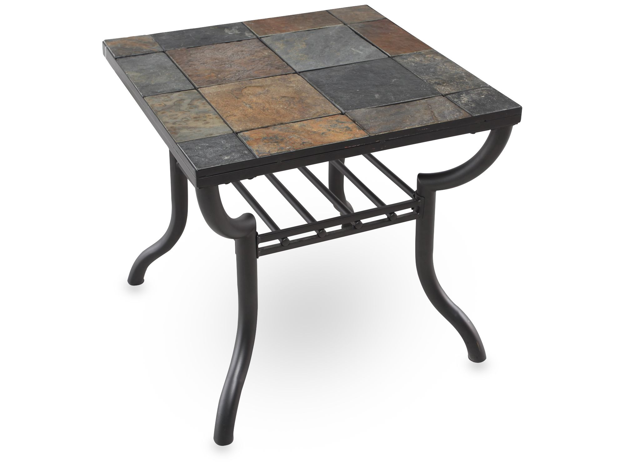 Slate End Tables