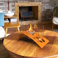 Indoor Fire Pit Table Design Options