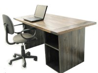 Rustic Office Desk Home Design Inspiration, Decor ...