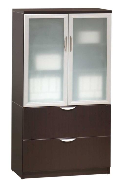 Medium Of Wooden Storage Cabinets