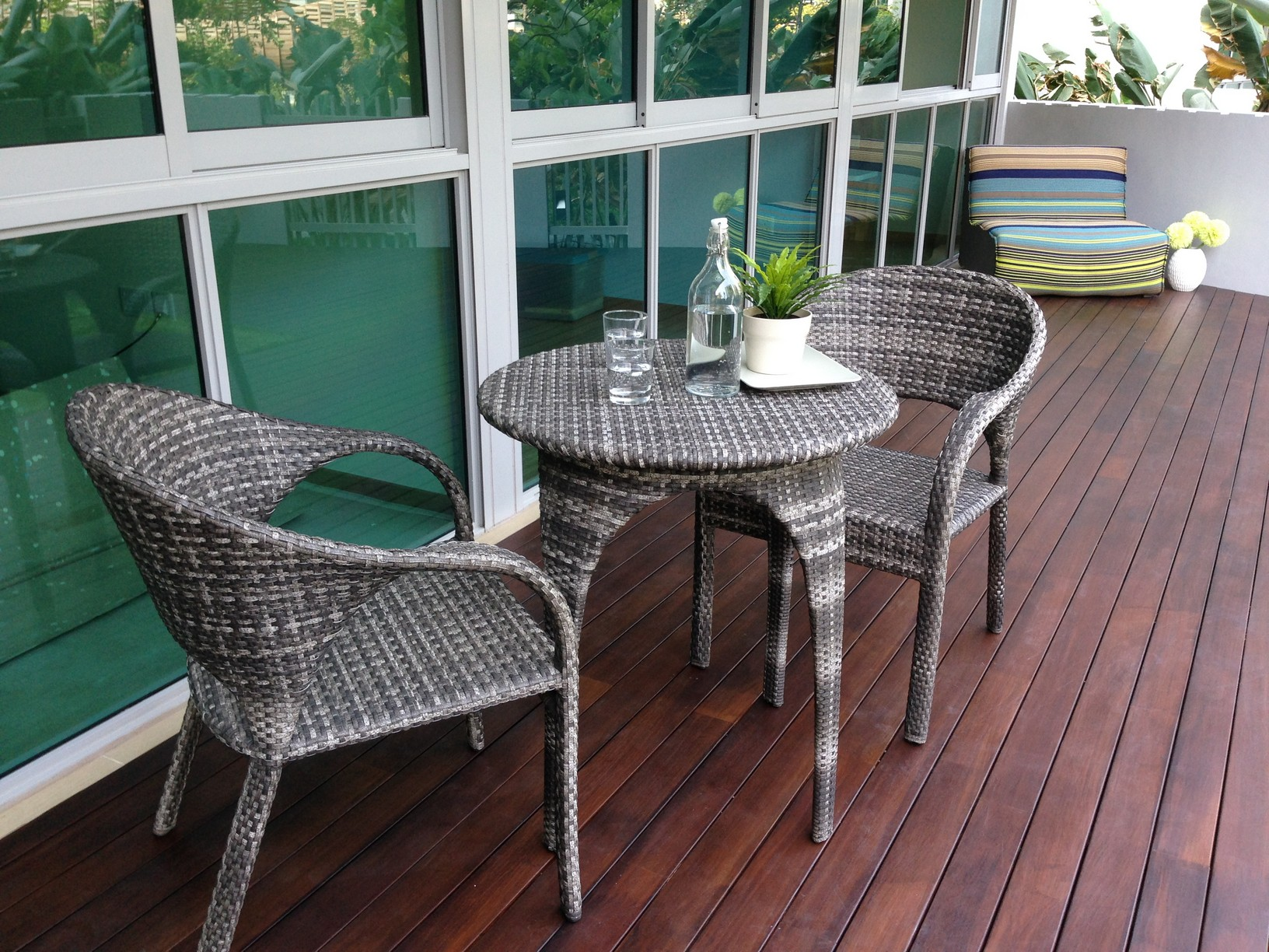 Set Balcon Apartment Balcony Furniture Homesfeed