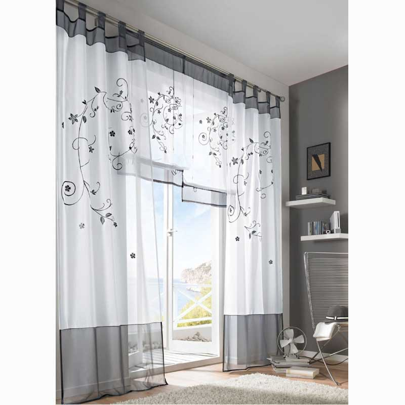 Ikea Window Ikea Patterned Curtains | Homesfeed