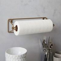 Modern Paper Towel Holder | HomesFeed