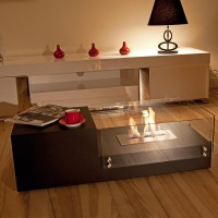 Indoor Fire Pit Table Design Options | HomesFeed
