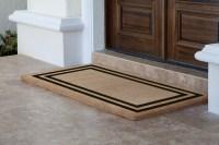Double Door Welcome Mats - Home Ideas