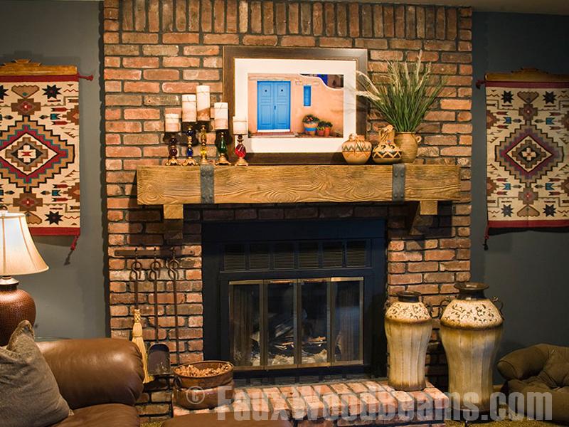 Rustic Mantel Decor Homesfeed