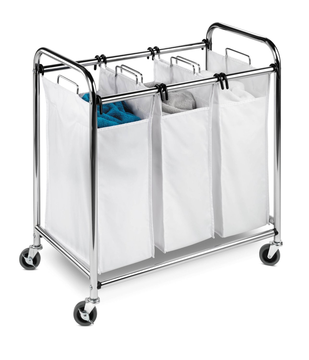 Laundry Bin With Wheels Laundry Baskets With Wheels Homesfeed