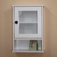 Storage Cabinet with Glass Doors | HomesFeed