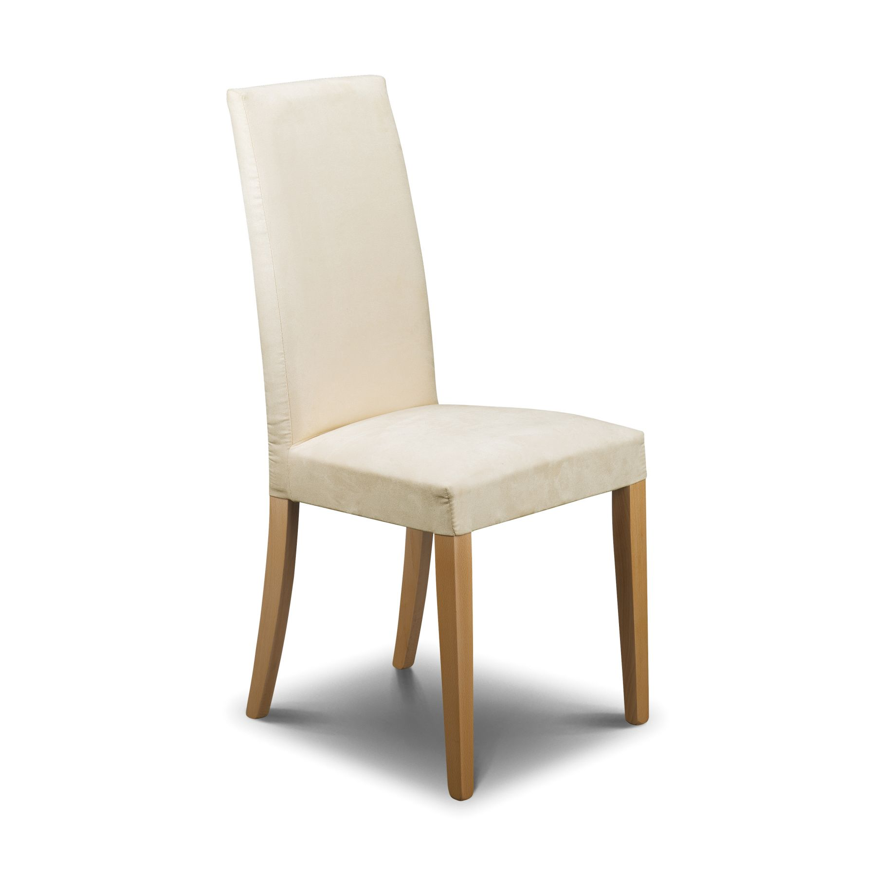 Upholstered Chairs For Dining Room White Upholstered Dining Chair Homesfeed