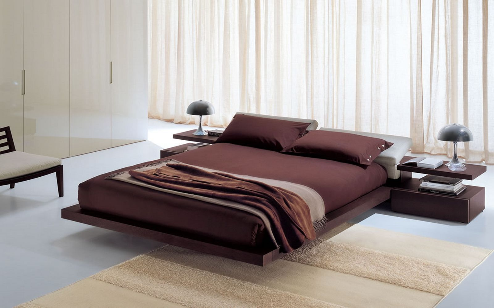 Modern Bed Designs Wood Modern King Size Bed Frame Homesfeed
