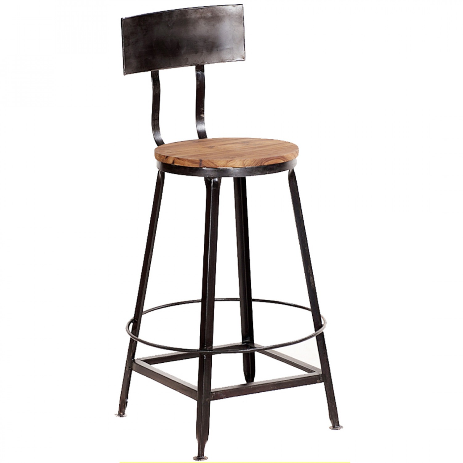High Back Stools Vintage Metal Bar Stools That Will Inspire You In Getting