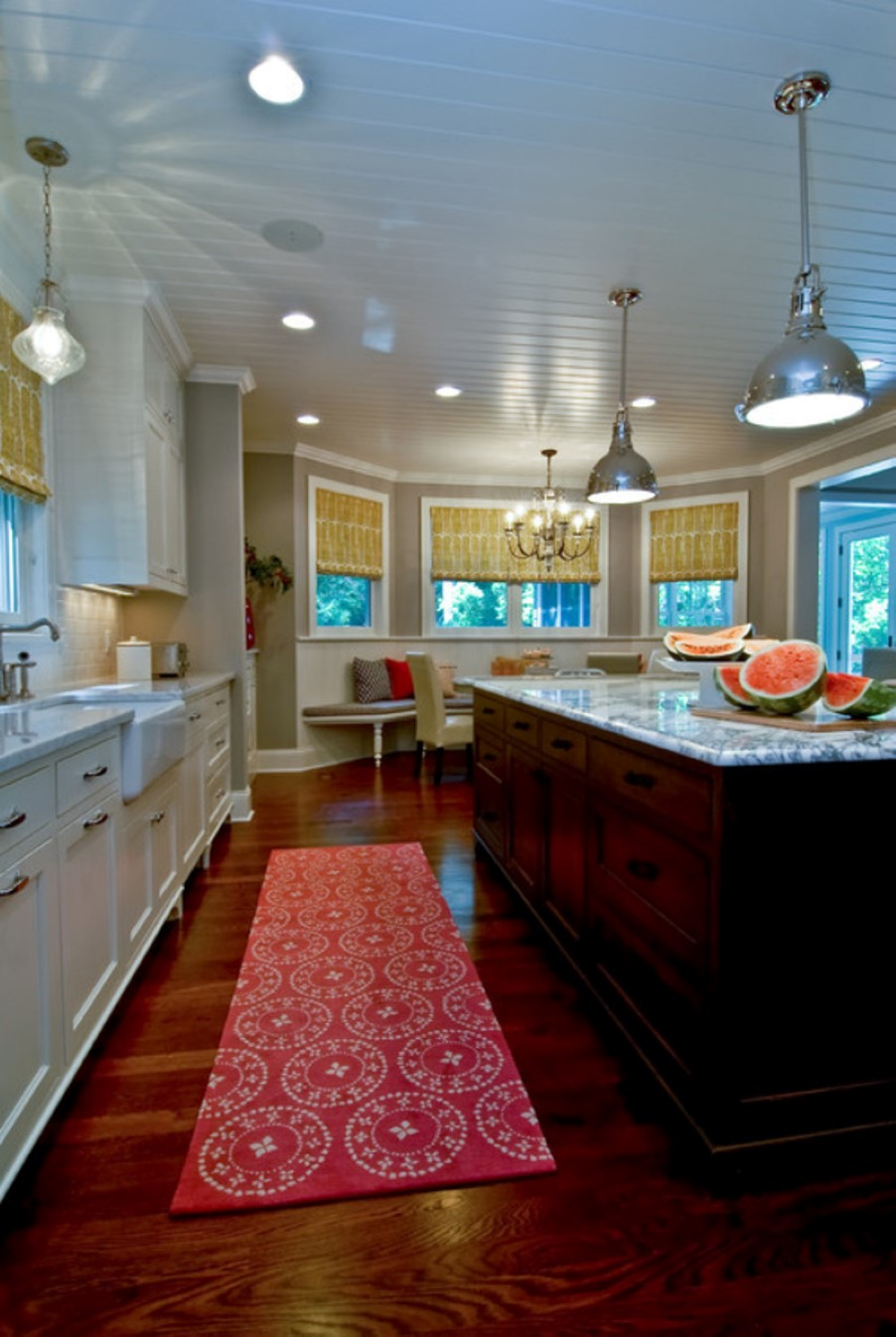 Galley Kitchen Ideas Some Vintage And Stylish Kitchen Mat And Rug Ideas | Homesfeed