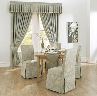Elegant Slipcover for Dining Room Chairs  Stylish Look ...