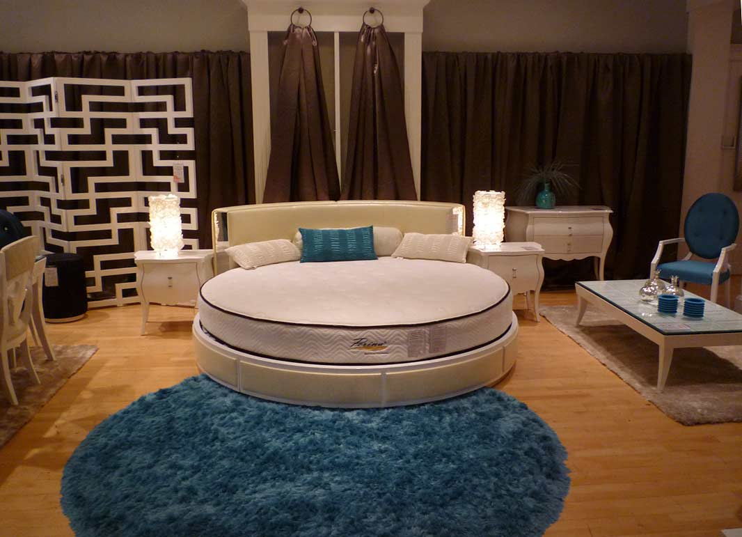 Circle Chairs For Bedrooms Sleep In Fancy And Fashionable Tone With Round Bed Homesfeed