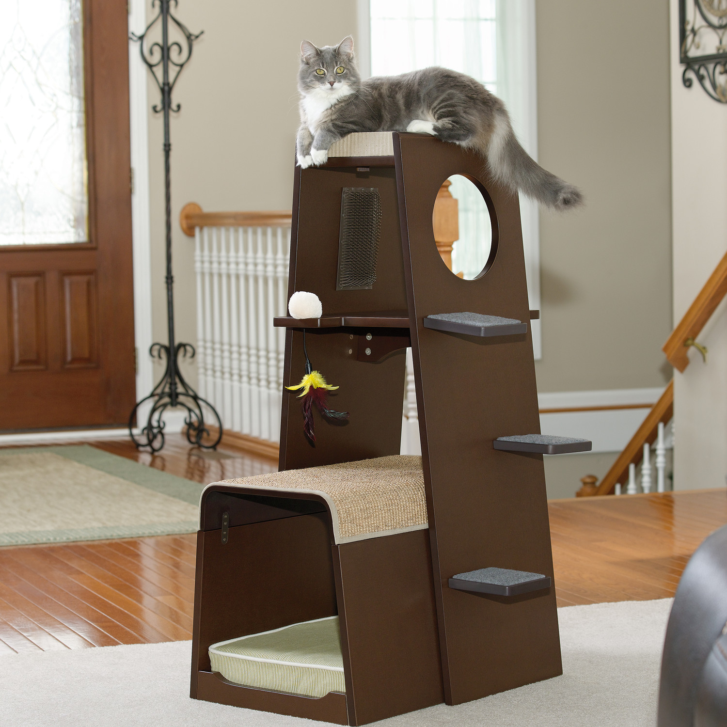 Cat Furniture Wall Contemporary Cat Furniture For Urban Pet Lovers Homesfeed