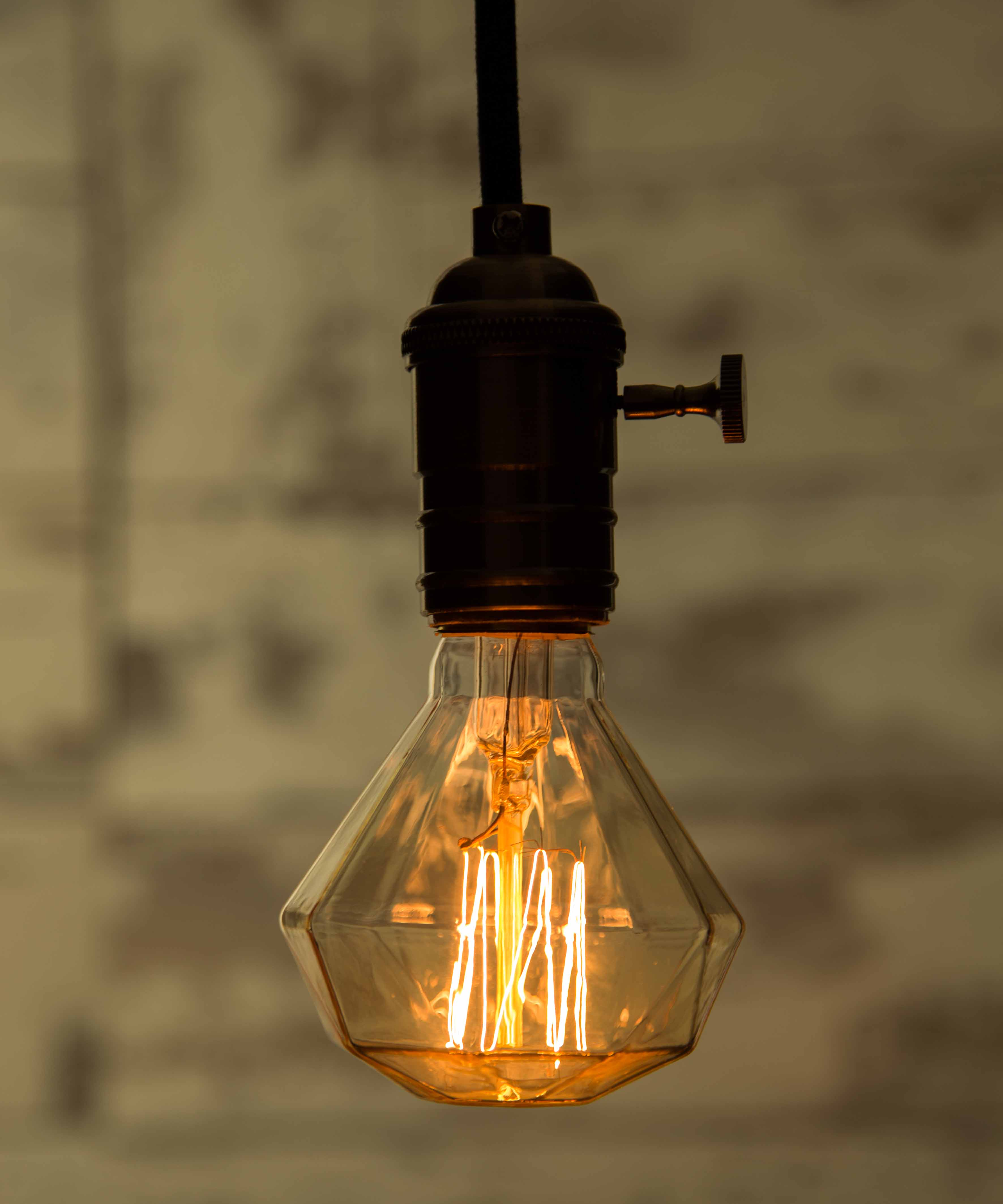Industrial Looking Light Bulbs Old Fashioned Light Bulb For Classy Industrial Interior
