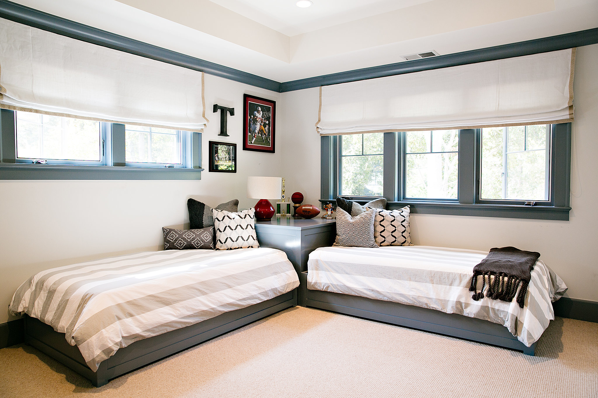 Twin beds for boys room -  Room Twin Bed Idea Without Headboard For Boys Download