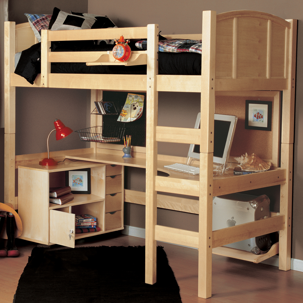 Twin Loft Bed The Advantages Of Twin Loft Bed With Desk And Storage