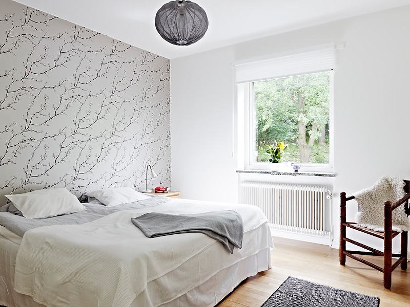 Salones Decorados Con Papel Pintado Bedroom With Wallpaper Accent Wall That You Must Have